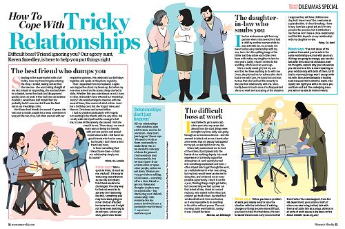 How to cope with tricky relationships